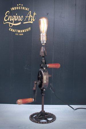 tafellamp handboor