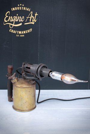 tafellamp soldeerbrander