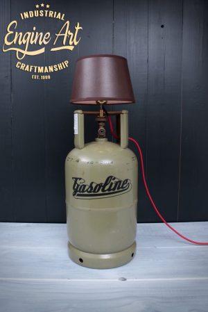 vloerlamp gasfles