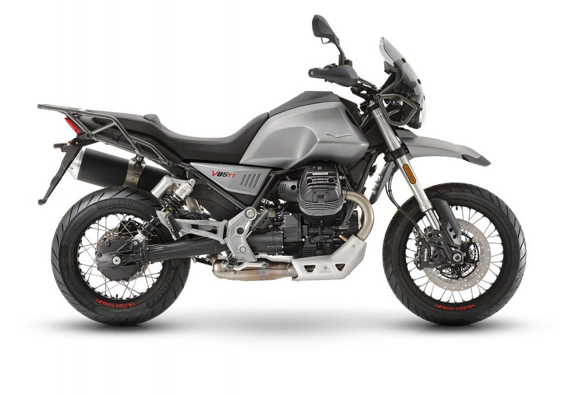 moto guzzi V85TT grigio